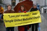 Temple United Methodist Church contingent
