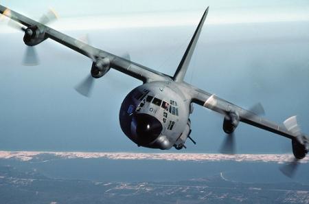 AC-130A Hercules gunship